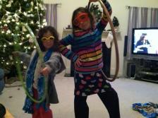 Goggle girls