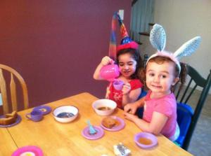 The Mad Hatter tea party