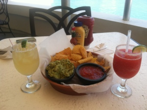 appetizer and drinks