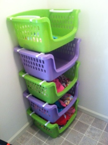 clothes bins