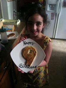 She's nine!!!
