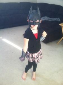 Batgirl showed up for the day!!!
