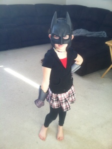 Batgirl showed up for the day!!!