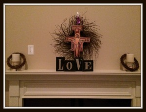lenten mantle
