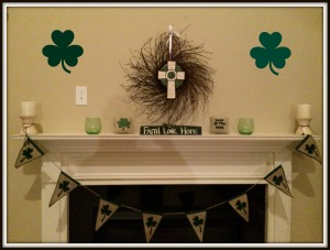 shamrock display