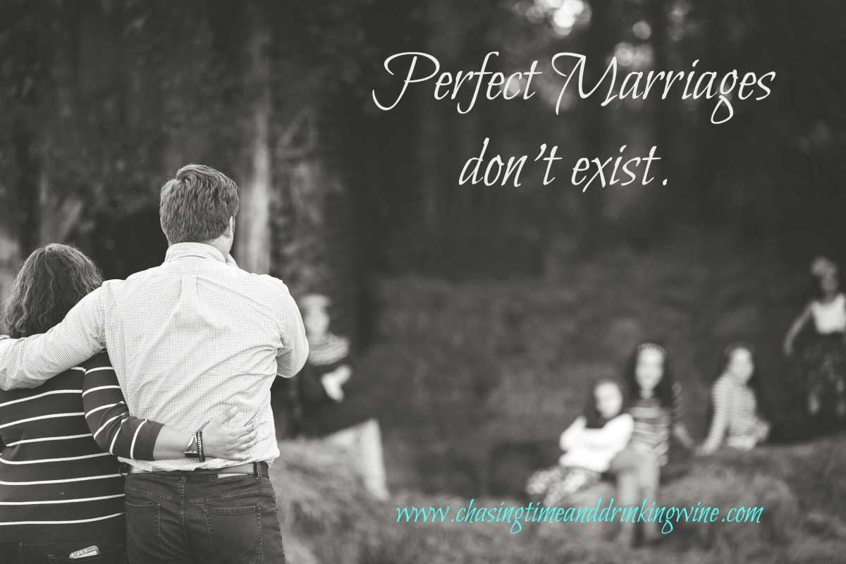 Perfect marriages don't exist....