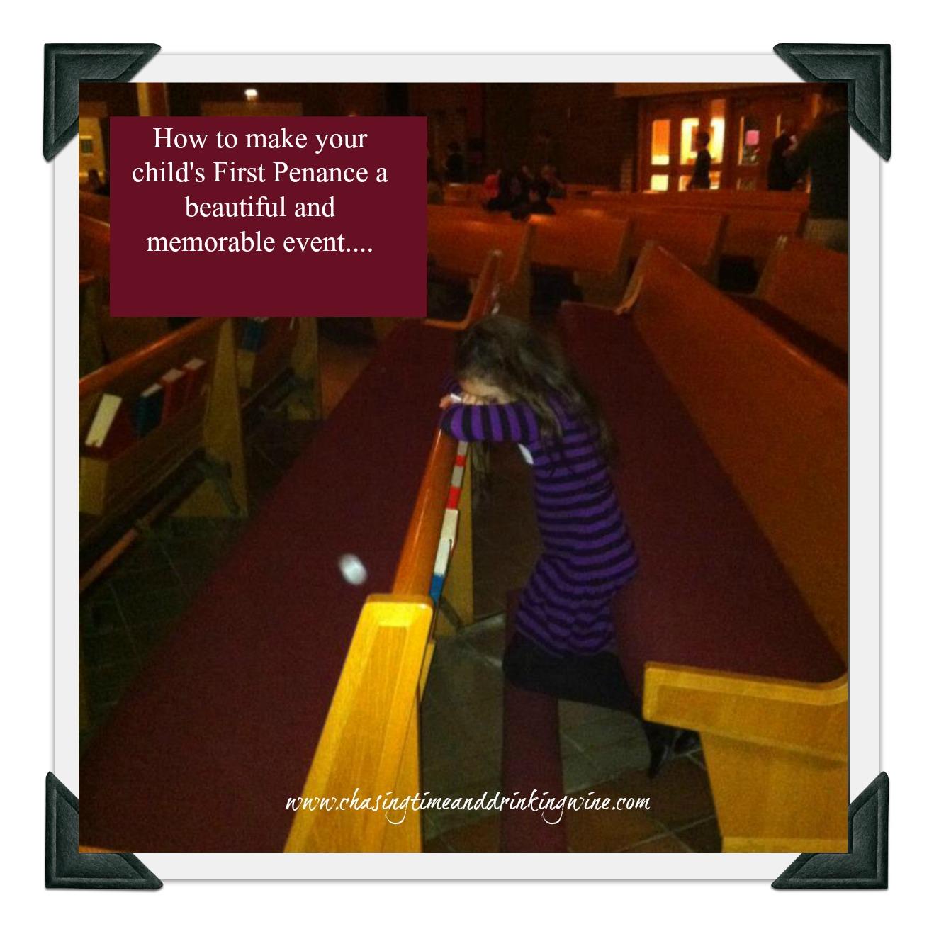 first penance blog